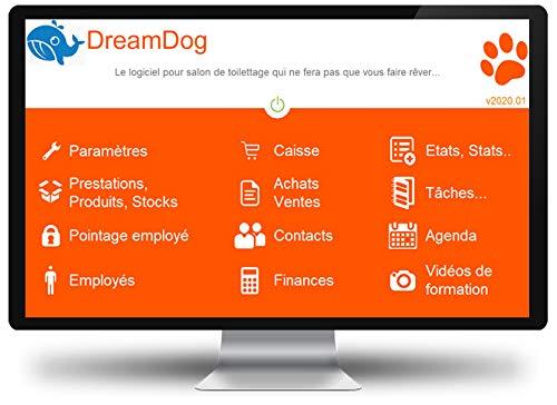 DreamDog 2020 - Logiciel de caisse pour salon de toilettage