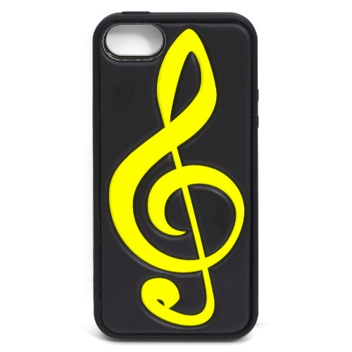 TYLT PILLO (MUSIC) Case for iPhone 5/5s (Clef Note - IP5PILCNOTEBK-T)