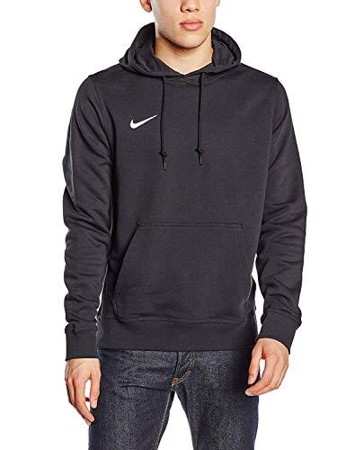 Nike Herren Kapuzenpullover Team Club, Schwarz (Black/White), L
