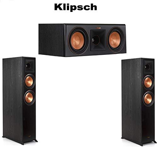 Find Discount (1 Pair) Klipsch RP-6000F Reference Premiere Floorstanding Speaker - Each (Ebony) + Kl...