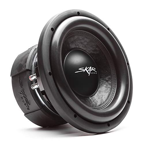 "Skar Audio DDX-10 D2 10"" 1500 Watt Max Power Dual 2 Ohm Car Subwoofer"