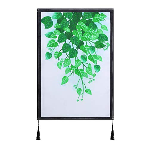 chenqiu Canvas Wall Art Green Leaf Picture Contemporary Canvas Art Watercolor Painting Prints Tropical Plants Canvas Artwork Wall Decor for Bathroom Living Room Bedroom