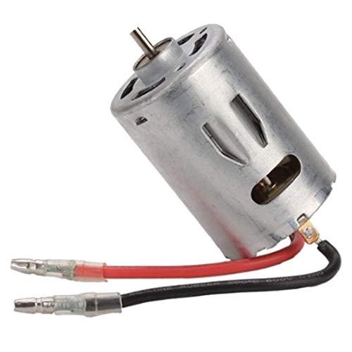 B Blesiya 540 Motor de Metal 12428-0121 Repuesto para Wltoys 12428 12423 1/12 RC Coche