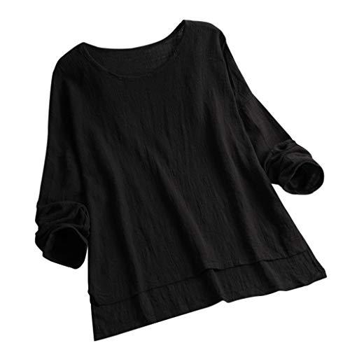 Auifor vrouwen Oanzet knop pure kleur plus grootte Vintage Sleeveless vest overstijgt blouse