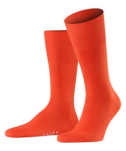 FALKE Herren Socken Airport, mit Merinowolle und Baumwolle, Business Socken zum Anzug, Rot (Ziegel 8095), 43-44, 1er Pack