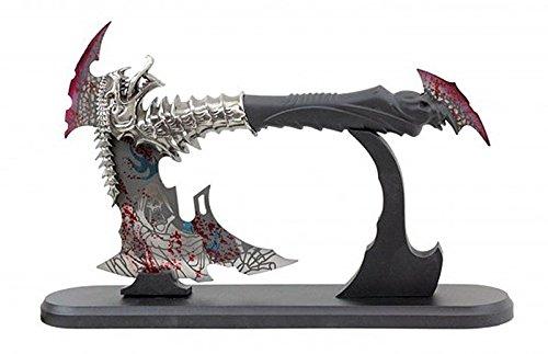 Fantasy Axe - Axe Drago con supporto da tavolo