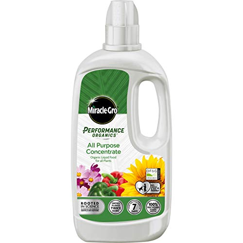 Miracle-Gro 119909 Performance Organics All Purpose Plant Food-1 Litre...