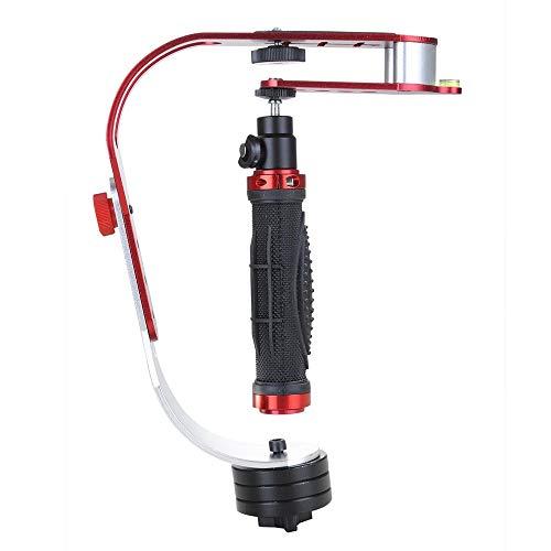 zhang-hongjun,La capacità di carico dello stabilizzatore di Camera Portatile per Fotocamera Reflex Digitale è di 1.5 kg(Color:Rosso)
