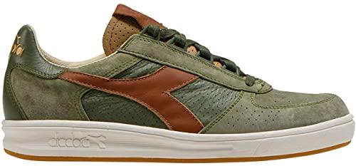 Diadora Heritage B.Elite H Italia Scarpa Sneakers Uomo Verde Fungo 42