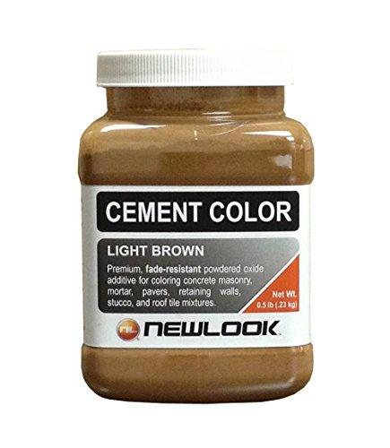 CEMENT COLOR 0.5 lb. Light Brown Fade Resistant Cement Color