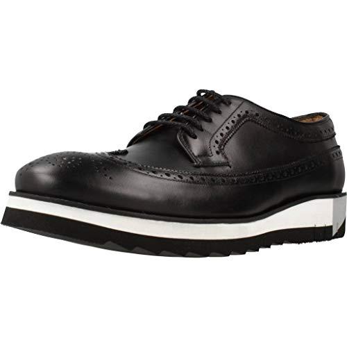 Angel Infantes Zapatos Cordones 94518 para Hombre Negro 41 EU