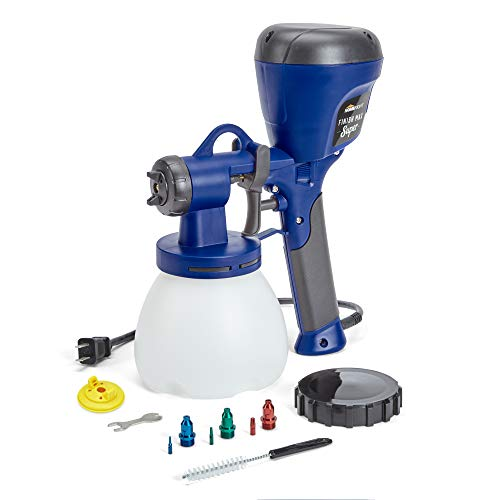 HomeRight C800971.A Super Finish Max Extra Power Painter, Home Sprayer HVLP Spray Gun for Painting Projects, Multi