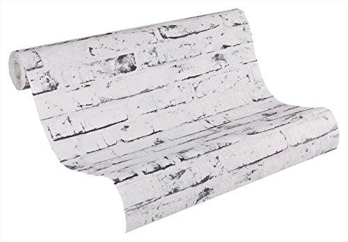 A.S. Création papel pintado de tejido-no-tejido New England beige gris 10,05 m...