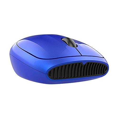 Fesjoy Wireless Mouse, Sm395 2.4Ghz Wireless Mouse Portable Ergonomic Mouse Streamlined Symmetrical Design Plug And Play For Pc Laptop Blue