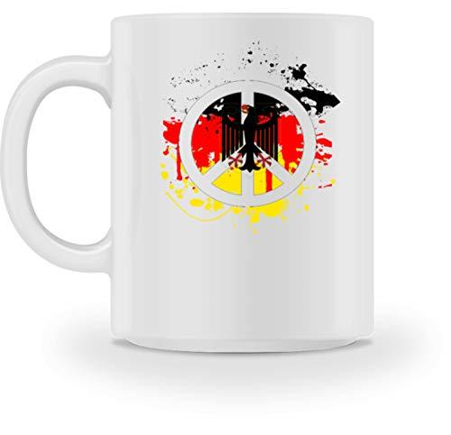 Generic Deutschland Peace Frieden Bundesadler Flagge Fahne - Schlichtes Und Witziges Design - Tasse