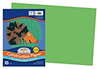 Pacon Sunworks建設紙 12 x 18 Inches グリーン