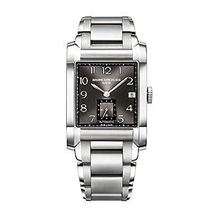 Baume & Mercier Men's BMMOA10048 Hampton Analog Display Swiss Automatic Silver Watch image