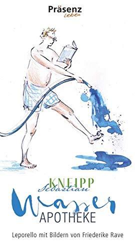 Wasserapotheke: Leporello mit Bildern von Friederike Rave