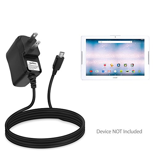 Acer Iconia One 10 (B3-A30) Charger, BoxWave [Wall Charger Direct] Wall Plug Charger for Acer Iconia One 10 (B3-A30)