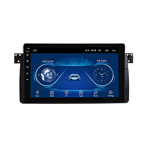 Radio Automóvil Estéreo GPS De Navegación Para BMW E46 Android Unidad Cabeza Sistema Auto Multimedia Video Player FM Receptor Con Wifi Bluetooth Mirrorlink Pantalla Táctil DSP,8 core 4g+wifi: 2+32gb