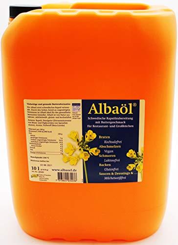 Albaöl Schwedische Rapsölzubereitung mit Buttergeschmack, 1 x 10l