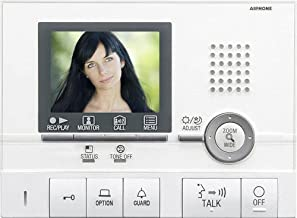 Aiphone Corporation GT-2C Hands-Free Video Tenant Master Station for GT Series, Multi-Tenant Intercom, ABS Plastic Construction, 5-1/2
