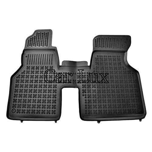 Car Lux AR05263 - Alfombras Alfombrillas de goma tipo cubeta 3D a medida para T4