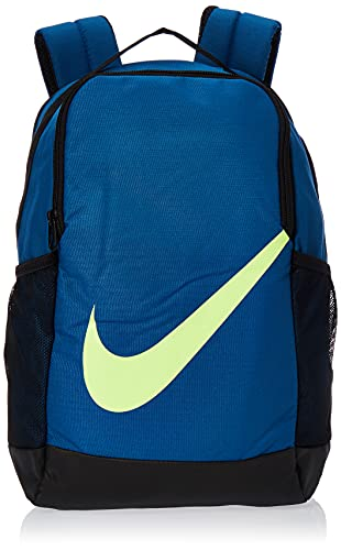 Nike Youth Brasilia Backpack-Fall'19 Zaino, Valeriana/Blu/Valeriana/Bianco, MISC Unisex-Bambini