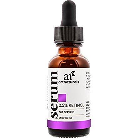 Art Naturals Siero Al Retinolo 2.5% Potenziato Con 20% Di Vitamina C E Acido Ialuronico 30 ml