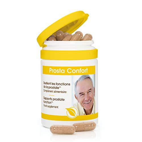 Prosta Confort - Pépin de Courge - Zinc - Sélénium - Vitamine E - Ortie - Saw Parmetto - Prostate et confort urinaire - 60 Gélules