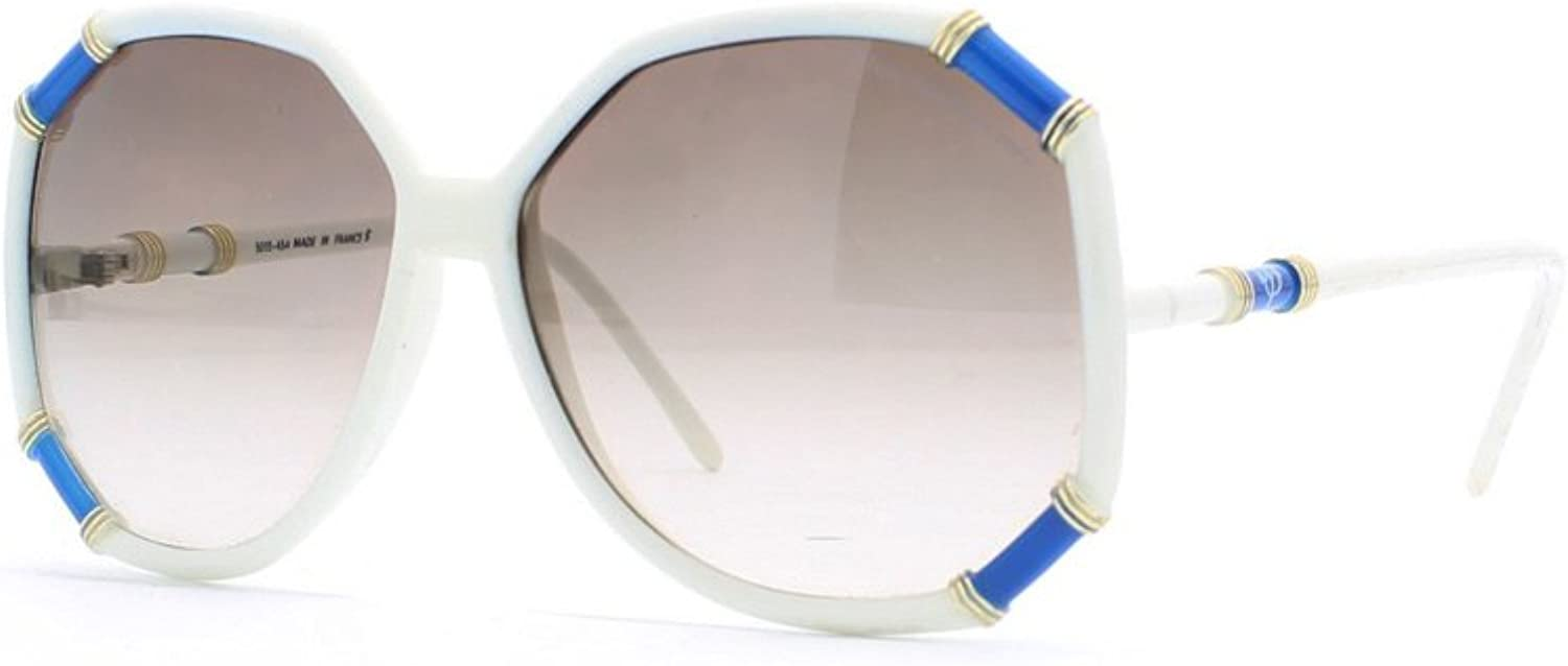 Club Mediteranee 5015 454 bluee and White Authentic Women Vintage Sunglasses