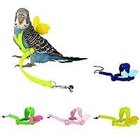 鳥フライト縄 オウム インコ ハーネス リード 飛び散り防止 バードトイ お出かけ 散歩 トレーニング ケージ内装 飾り 運動 遊び 小動物おもちゃ 鳥用品 色選択可能