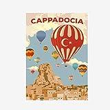 FGVB Antalya Santorini Kappadokien Poster Leinwand Malerei