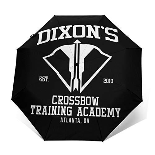 Dixons Regenschirm, für Armbrust/Training/Akademie, Winddicht, kompakt, automatisch, faltbar, zusammenklappbar