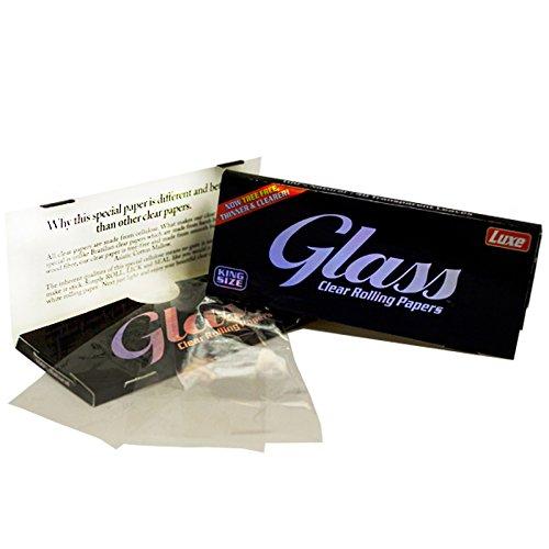Glass Com Papel de Liar, tamaño King – 24 librillos