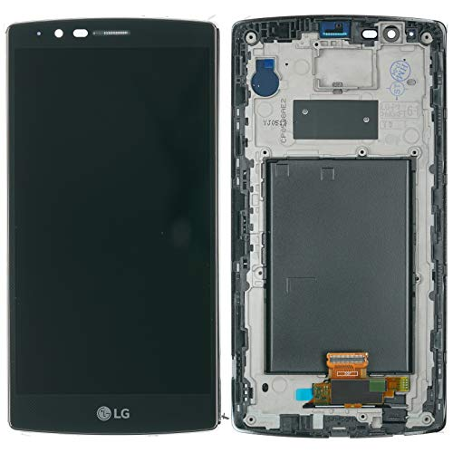 LG Optimus G4 H815 Displaymodul LCD Display Cover Touchscreen Glas Scheibe Rahmen schwarz