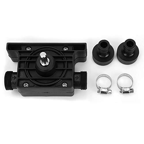 Electric Drill Water Pump, Portable Electric Drill Pump Self-priming Oil Fluid WaterTransfer Pump