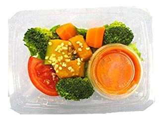 [冷蔵] デリシャス?クック高リコピントマト入りドレの緑黃色野菜サラダ