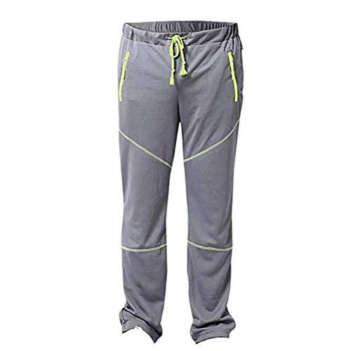 Pantalon de pêche à séchage Rapide Respirant Hommes Escalade en Plein air randonnée Moustique écran Solaire Taille élastique Combat Pantalon Cargo