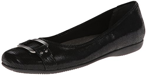 Trotters Women's Sizzle Black Patent Suede 11 N