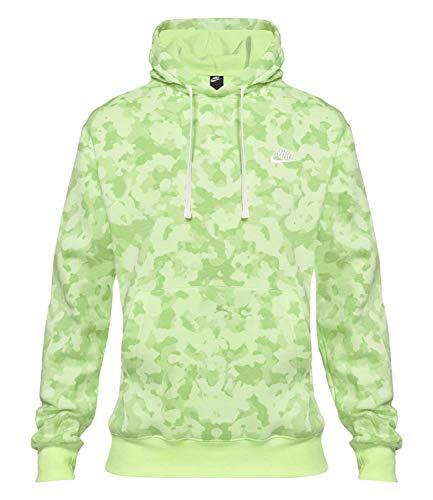 Nike M NSW Club BB - Sudadera con capucha Camo - L