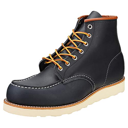 "Price comparison product image Red Wing 8859: Men's 6"" Moc Toe Navy Portage Boots (12 D(M) US Men)"
