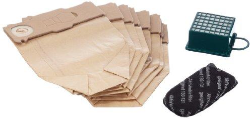 Mister vac A900 Pack de 8 sacs en non-tissé, 1 filtre HEPA et 1 filtre charbon pour Vorwerk Kobold 130 et 131