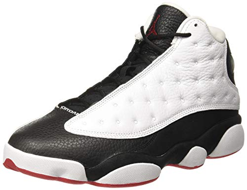 Nike Air Jordan 13 Retro - white/true red-black, Größe:12