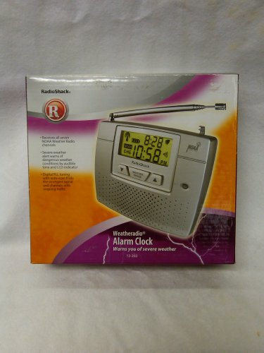 Radio Shack Weather Radio Alarm Clock