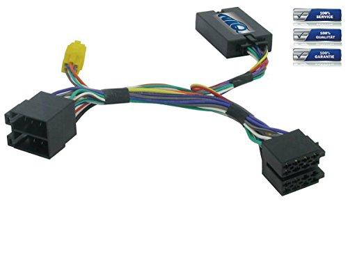 NIQ Adaptador de mando a distancia en el volante adecuado para radios...