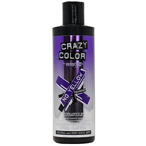 Ultra violeta / ultra blonde No Yellow Silver Shampoo - Crazy Color