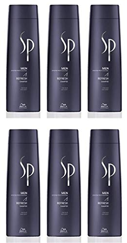 Wella SP Men Refreshing Shampoo, 6 stuks, 250 ml