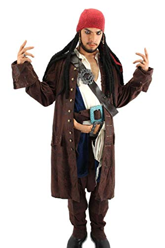 NUOVO Anello Teschio Pirata Jack Sparrow BUCCANEER HALLOWEEN FANCY DRESS