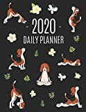 Dog Yoga Planner 2020: Large Funny Animal Agenda | Meditation Puppy Yoga Organizer: January - December (12 Months) | For Work, Appointments, College, Office or School (Yoga Planners 2020)